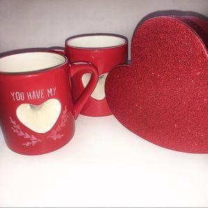 🆕 Heart Coffee Cups